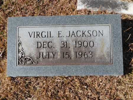 JACKSON, VIRGIL E - Union County, Arkansas | VIRGIL E JACKSON - Arkansas Gravestone Photos