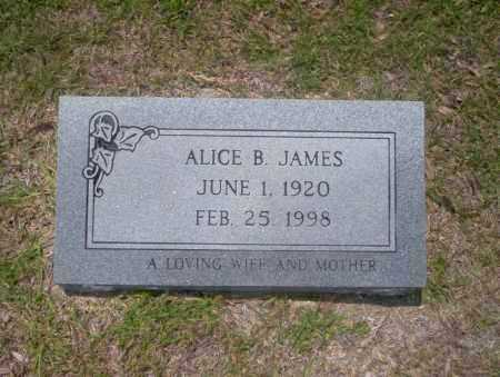JAMES, ALICE B - Union County, Arkansas | ALICE B JAMES - Arkansas Gravestone Photos