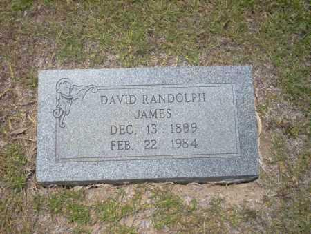 JAMES, DAVID RANDOLPH - Union County, Arkansas | DAVID RANDOLPH JAMES - Arkansas Gravestone Photos