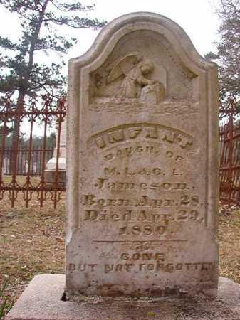 JAMESON, INFANT DAUGHTER - Union County, Arkansas | INFANT DAUGHTER JAMESON - Arkansas Gravestone Photos