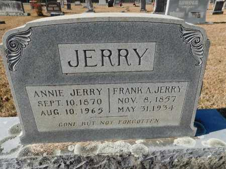 JERRY, FRANK A - Union County, Arkansas   FRANK A JERRY - Arkansas Gravestone Photos
