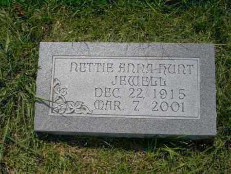 JEWELL, NETTIE ANNA - Union County, Arkansas | NETTIE ANNA JEWELL - Arkansas Gravestone Photos