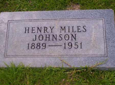 JOHNSON, HENRY MILES - Union County, Arkansas | HENRY MILES JOHNSON - Arkansas Gravestone Photos