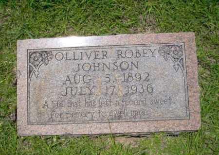 JOHNSON, OLLIVER ROBEY - Union County, Arkansas | OLLIVER ROBEY JOHNSON - Arkansas Gravestone Photos