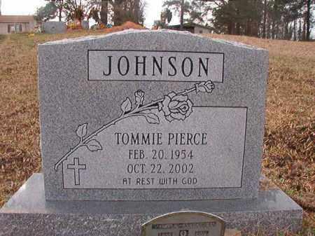 JOHNSON, TOMMIE PIERCE - Union County, Arkansas   TOMMIE PIERCE JOHNSON - Arkansas Gravestone Photos