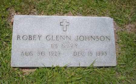 JOHNSON (VETERAN), ROBEY GLENN - Union County, Arkansas | ROBEY GLENN JOHNSON (VETERAN) - Arkansas Gravestone Photos