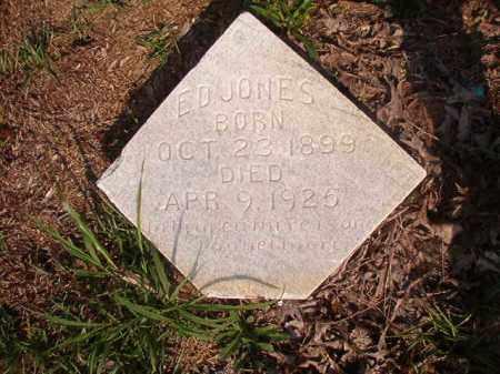 JONES, ED - Union County, Arkansas | ED JONES - Arkansas Gravestone Photos