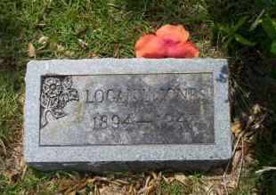 JONES, LOGAN L - Union County, Arkansas | LOGAN L JONES - Arkansas Gravestone Photos