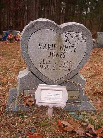 JONES, MARIE - Union County, Arkansas | MARIE JONES - Arkansas Gravestone Photos
