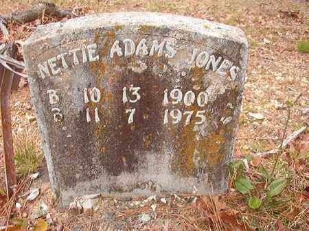 JONES, NETTIE - Union County, Arkansas | NETTIE JONES - Arkansas Gravestone Photos