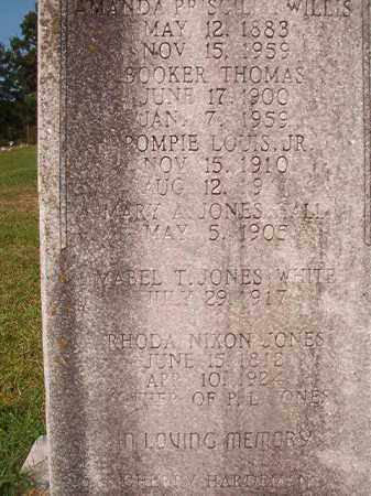 JONES, RHODA - Union County, Arkansas | RHODA JONES - Arkansas Gravestone Photos