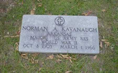 KAVANAUGH  (VETERAN WWII), NORMAN A - Union County, Arkansas   NORMAN A KAVANAUGH  (VETERAN WWII) - Arkansas Gravestone Photos