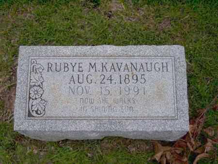 KAVANAUGH, RUBYE M - Union County, Arkansas | RUBYE M KAVANAUGH - Arkansas Gravestone Photos