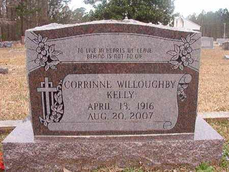 WILLOUGHBY KELLY, CORRINNE - Union County, Arkansas | CORRINNE WILLOUGHBY KELLY - Arkansas Gravestone Photos