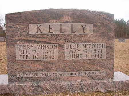 MCGOUGH KELLY, LILLIE - Union County, Arkansas | LILLIE MCGOUGH KELLY - Arkansas Gravestone Photos