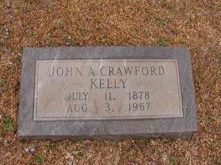 KELLY, JOHN A CRAWFORD - Union County, Arkansas | JOHN A CRAWFORD KELLY - Arkansas Gravestone Photos
