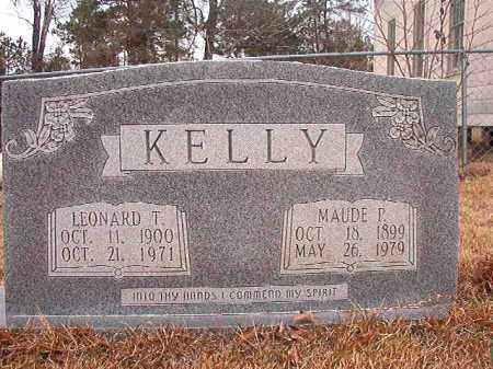 KELLY, LEONARD T - Union County, Arkansas | LEONARD T KELLY - Arkansas Gravestone Photos