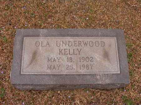 KELLY, OLA - Union County, Arkansas | OLA KELLY - Arkansas Gravestone Photos