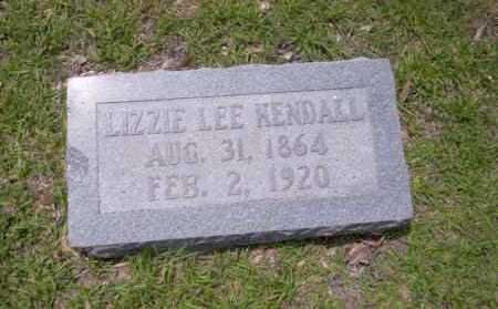 LEE KENDALL, LIZZIE - Union County, Arkansas | LIZZIE LEE KENDALL - Arkansas Gravestone Photos