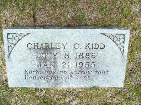 KIDD, CHARLEY C - Union County, Arkansas | CHARLEY C KIDD - Arkansas Gravestone Photos