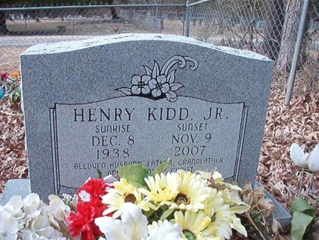 KIDD, HENRY, JR - Union County, Arkansas | HENRY, JR KIDD - Arkansas Gravestone Photos