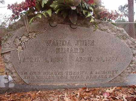 KINARD, WANDA JUNE - Union County, Arkansas   WANDA JUNE KINARD - Arkansas Gravestone Photos