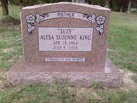 "KING, ALESA SUZONNE ""SUZY"" - Union County, Arkansas | ALESA SUZONNE ""SUZY"" KING - Arkansas Gravestone Photos"
