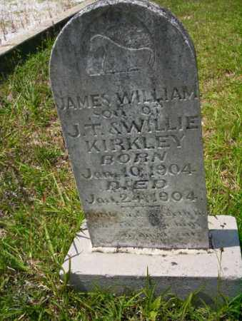 KIRKLEY, JAMES WILLIAM - Union County, Arkansas | JAMES WILLIAM KIRKLEY - Arkansas Gravestone Photos