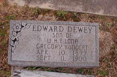 KUNDERT, EDWARD DEWEY - Union County, Arkansas   EDWARD DEWEY KUNDERT - Arkansas Gravestone Photos