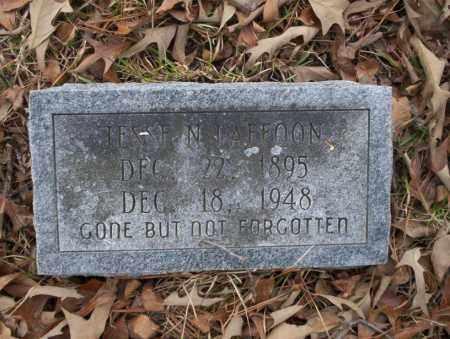 LAFFOON, JESSE N - Union County, Arkansas | JESSE N LAFFOON - Arkansas Gravestone Photos