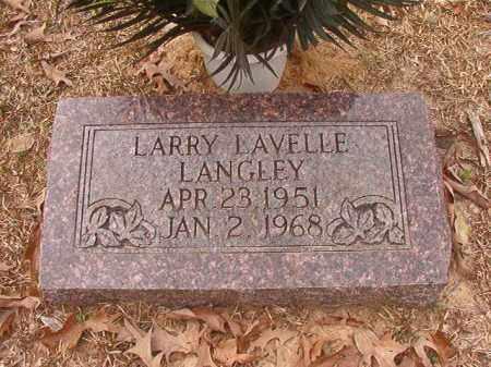 LANGLEY, LARRY LAVELLE - Union County, Arkansas | LARRY LAVELLE LANGLEY - Arkansas Gravestone Photos