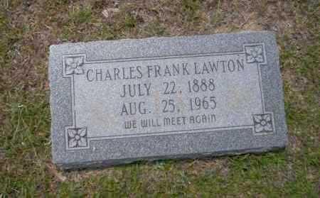LAWTON, CHARLES FRANK - Union County, Arkansas   CHARLES FRANK LAWTON - Arkansas Gravestone Photos