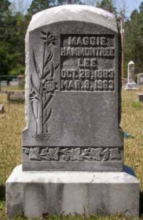 HAMMONTREE LEE, MAGGIE - Union County, Arkansas | MAGGIE HAMMONTREE LEE - Arkansas Gravestone Photos
