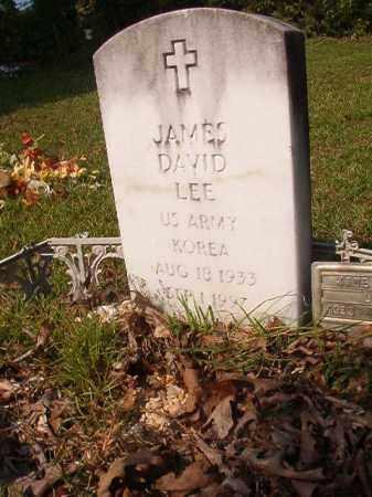LEE (VETERAN KOR), JAMES DAVID - Union County, Arkansas | JAMES DAVID LEE (VETERAN KOR) - Arkansas Gravestone Photos