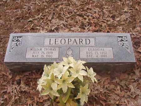 LEOPARD, GILBERTINE - Union County, Arkansas | GILBERTINE LEOPARD - Arkansas Gravestone Photos