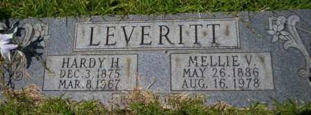 LEVERITT, HARDY H - Union County, Arkansas | HARDY H LEVERITT - Arkansas Gravestone Photos