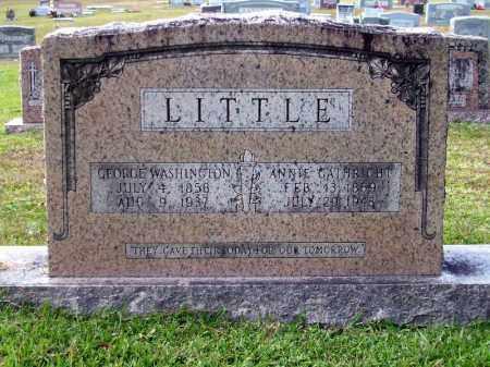 GATHRIGHT LITTLE, ANNIE - Union County, Arkansas | ANNIE GATHRIGHT LITTLE - Arkansas Gravestone Photos
