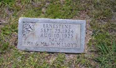 LLOYD, ERNESTENE - Union County, Arkansas | ERNESTENE LLOYD - Arkansas Gravestone Photos