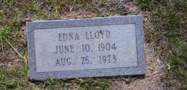 LLOYD, EDNA - Union County, Arkansas | EDNA LLOYD - Arkansas Gravestone Photos