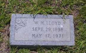 LLOYD, W.M. - Union County, Arkansas | W.M. LLOYD - Arkansas Gravestone Photos
