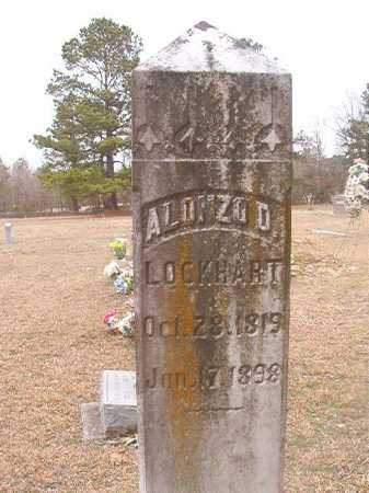 LOCKHART, ALONZO D - Union County, Arkansas | ALONZO D LOCKHART - Arkansas Gravestone Photos