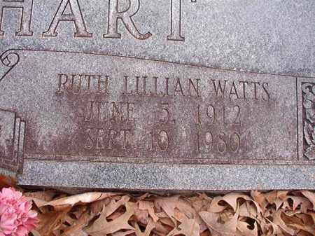 WATTS LOCKHART, RUTH LILLIAN - Union County, Arkansas | RUTH LILLIAN WATTS LOCKHART - Arkansas Gravestone Photos