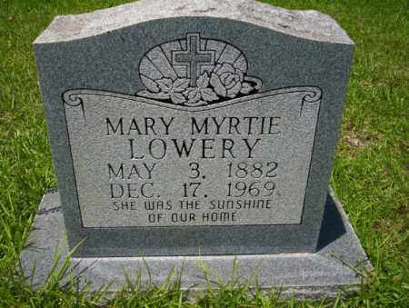LOWERY, MARY MYRTIE - Union County, Arkansas | MARY MYRTIE LOWERY - Arkansas Gravestone Photos