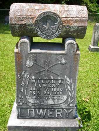 LOWERY, WILLIAM B - Union County, Arkansas | WILLIAM B LOWERY - Arkansas Gravestone Photos