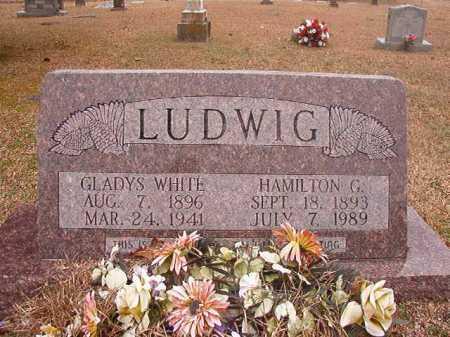WHITE LUDWIG, GLADYS - Union County, Arkansas | GLADYS WHITE LUDWIG - Arkansas Gravestone Photos