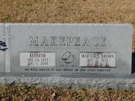MAKEPEACE, KENNETH - Union County, Arkansas | KENNETH MAKEPEACE - Arkansas Gravestone Photos