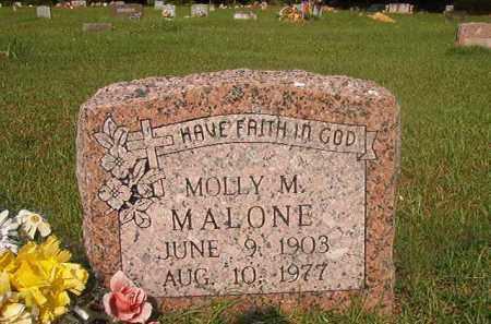 MALONE, MOLLY M - Union County, Arkansas | MOLLY M MALONE - Arkansas Gravestone Photos