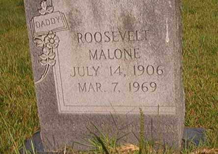 MALONE, ROOSEVELT - Union County, Arkansas   ROOSEVELT MALONE - Arkansas Gravestone Photos