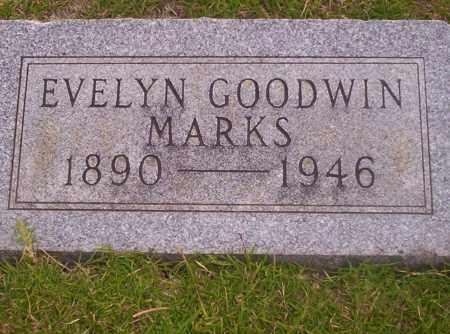 GOODWIN MARKS, EVELYN - Union County, Arkansas | EVELYN GOODWIN MARKS - Arkansas Gravestone Photos