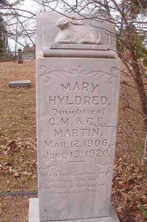 MARTIN, MARY HYLDRED - Union County, Arkansas | MARY HYLDRED MARTIN - Arkansas Gravestone Photos